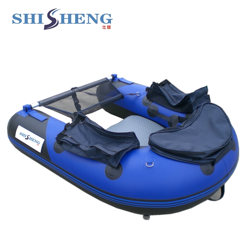 CE Approved Inflatable Fly Fishing Float Tube Belly Boat for Sale цена 2017