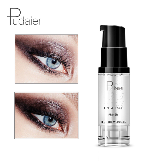pudaier Brand Transparent Makeup Primer Gel Brighten Waterproof Moisturizer Easy to Wear Eyes Face Primer Cosmetic