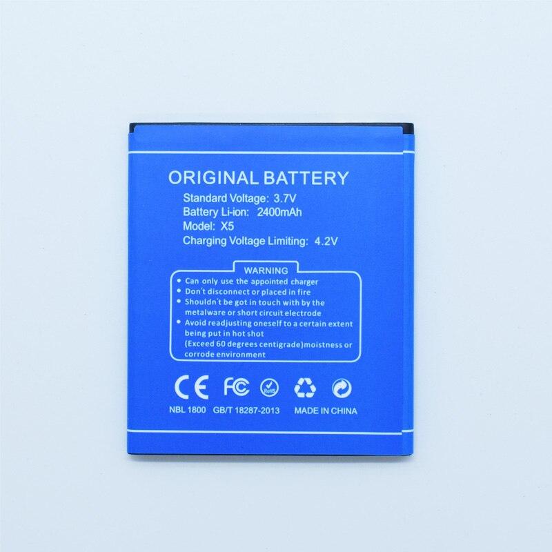 Original Hekiy Battery for DOOGEE X5/X5 Pro 2400mAh Battery for DOOGEE X5/x5 Pro Smartphone Replacement