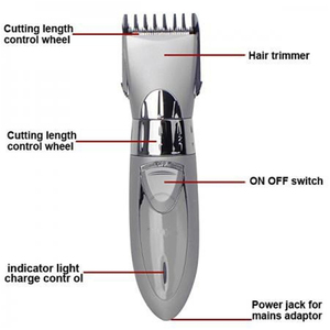 Image 3 - جديد قابل للغسل مقص الشعر الكهربائية قابلة للشحن الحلاقة للرجال الطفل HC001 اللاسلكي أداة تهذيب اللحية ماكينة حلاقة قص الشعر 220 فولت