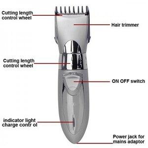 Image 3 - ใหม่ไฟฟ้าผม Clipper มีดโกนสำหรับผู้ชาย HC001 Cordless Beard Trimmer มีดโกนหนวดตัดเครื่อง 220V