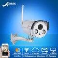 Sony sensor onvif p2p 1080 p 25fps hd câmera de vigilância de segurança de rede sem fio ir ao ar livre bala à prova d' água câmera de cctv wi-fi