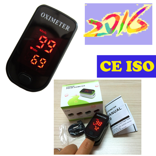 CE ISO Blood Oxygen Monitor Heartbeat Monitor Pulse Oximeter