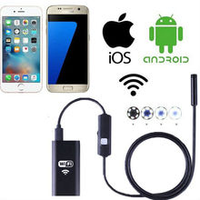 Cheaper 2MP Wifi Endoscope Wireless Underwater Digital Microscope Electronic Inspection Camera Loupe for IOS and Android Mobile