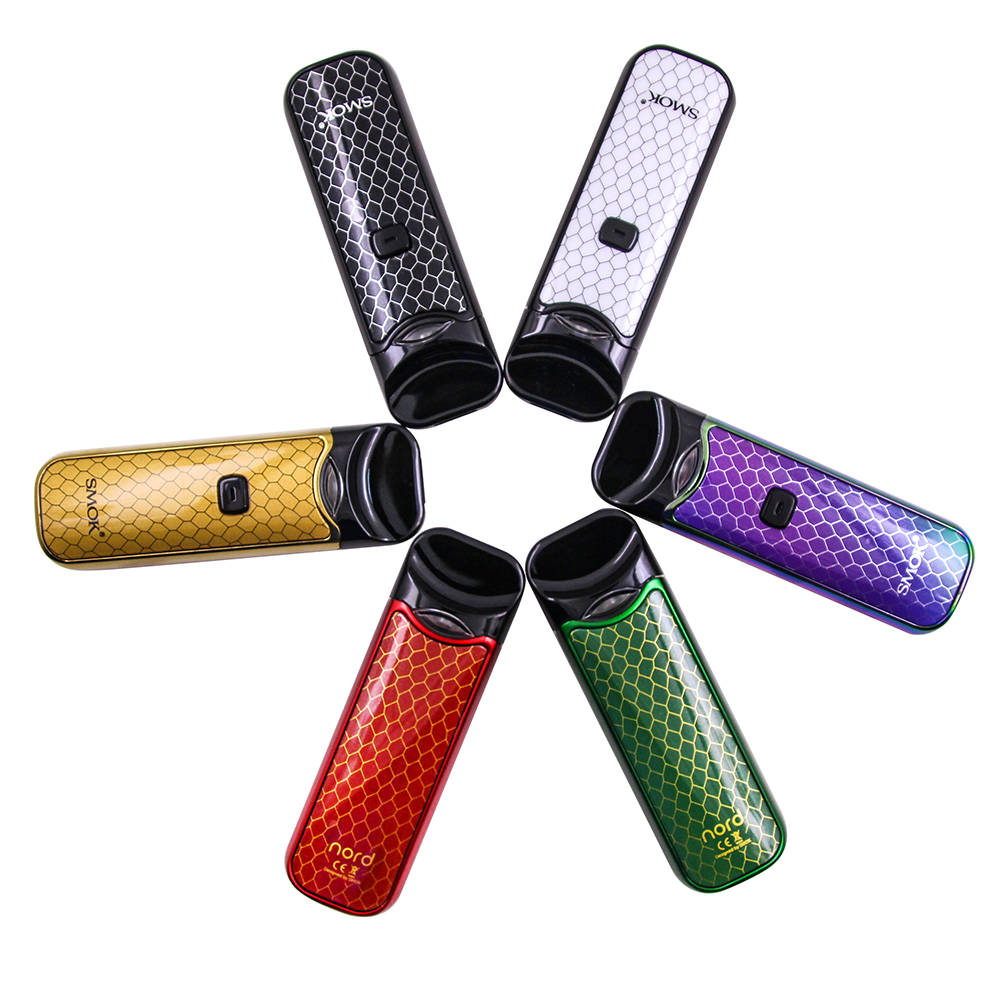 NEW! Original SMOK Nord Kit Button-triggered Pod Anti-Leaking Mini Vape Pen  with 1100mAh Battery Pods Coil Accessories VS NOVO
