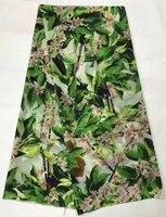 (5 מטר/הרבה) NSL765, ויפה למראה מודפס אלסטיות בד משי בד משי שיפון למתוח שמלת גברת שיפון משי 10 מ