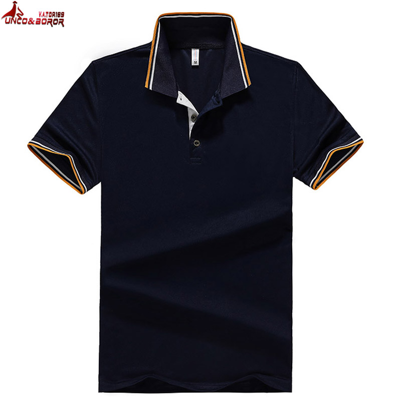New Men   Polo   Shirt Men Business & Casual solid male   polo   shirt Short Sleeve Breathable   polo   shirt size 6XL 7XL 8XL Multi pack