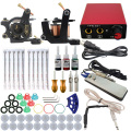 ITATOO Pens Tattoo Kit Cheap Tattoo Machine Set Kit Tattooing Ink Machine Gun Supplies For Jewelry Weapon Professional TK104005