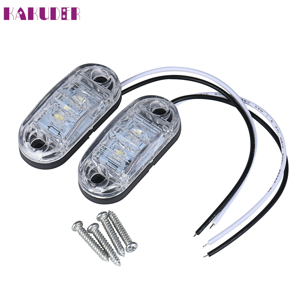 все цены на New 2x12 v / 24 v Tow Truck Side Marker Light LED Submersible Lamp NOV10 онлайн