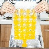 100ピース使い捨て製氷袋アイスキューブトレイ型なりショットグラスアイス金型ノベルティ贈り物アイストレイ夏飲料ツー