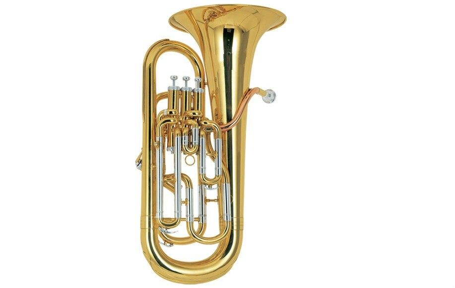 Профессиональная и мельхиоровая труба euphonium с четырьмя поршнями(AEP-1150
