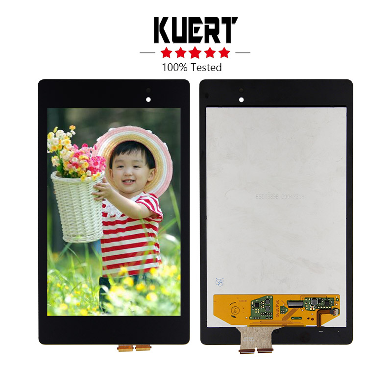 Free Shipping For Asus Google Nexus 7 2nd Gen 2013 K008 Touch Screen Digitizer LCD Display Assembly Replacement original 7 inch for nexus 7 2nd gen 2013 lcd display touch screen digitizer assembly for asus google nexus 7 2nd free shipping