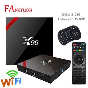 FANGTUOSI X96 X96W Smart tv bo