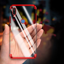 Soft Silicon Transparent Case for HUAWEI nova 3i 3 P20 Pro P10 Lite P9 Mate 10 20 Clear P Smart Plus Slim TPU Phone Shell Cover(China)