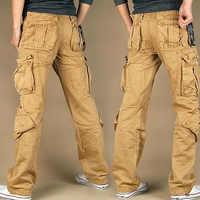 New style Women's Cargo Pants Leisure loose Trousers more Pocket pants Hip-hop pants SHIERXI