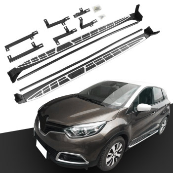 Side Step FIT for Renault Captur 2013-2020 Running Board Nerf Bar Platform Iboard 2 PCS