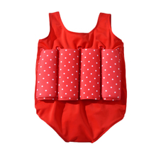 Summer 2019 New Children's Buoyancy Swimwear Swimming Training Floating Suit One-piece Swimsuit Life Jacket Red baby buoyant swimwear girl quick drying life jacket one piece buoyancy swimsuit high elasticity pool float kid learning swimming