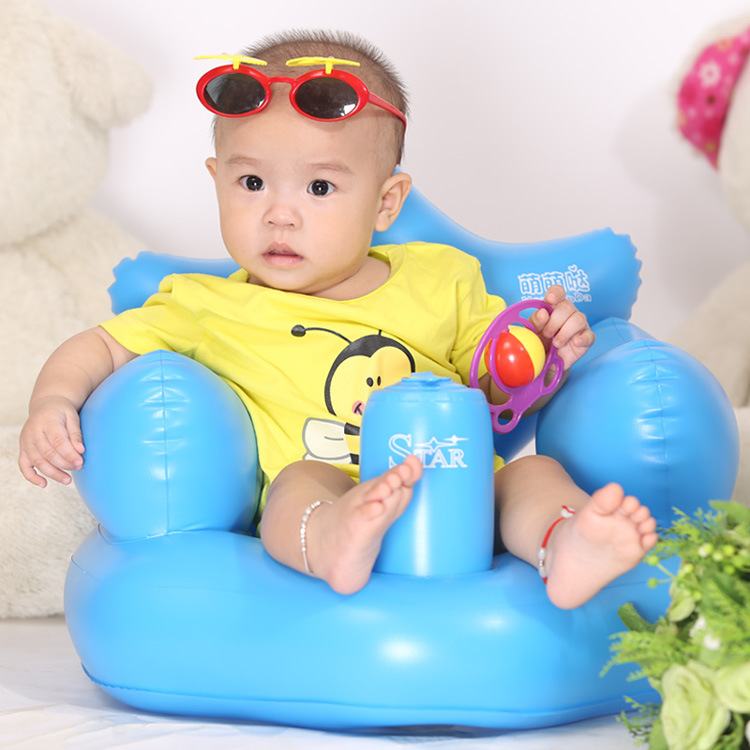 baby bath chairs wedding chair covers to make seat dining inflatable kids sofa portable play game mat stool