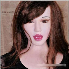Deep throat sexy girl inflatable semi-solid silicone sex doll sextoys adults for men,realistic female sex doll