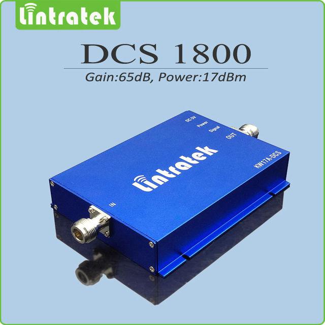 Repetidor gsm 1800 DCS repetidor de sinal celular DCS 1800 Mhz celular signal booster com potência de saída 17dBm gain 65dB