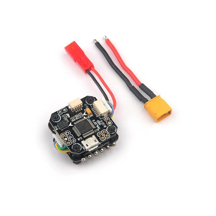 Mini contrôleur F3 OSD avec 4 en 1 10A ESC para Racing Drone quadrirotor 20mm * 20mm pour kit de cadre 130