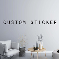 Customized Product Link Personalized Vinyl Wall Stickers