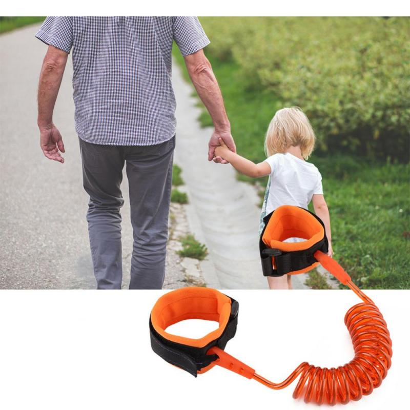 3 Types Toddler Kids Baby Safety Walking Harness Anti-lost Strap Wrist Leash Children Hand Belt Rope Length 1.5M