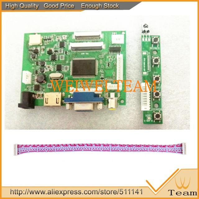 HDMI VGA 2AV 40 pines controlador de PC para Raspberry PI 3 EJ101IA-01G 1280x800 1ch de 8 bits IPS pantalla LCD Panel