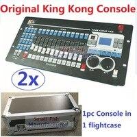 2 xLot Spedizione gratuita King Kong 768 Console DMX 60 Scene di Illuminazione Professionale Della Fase Attrezzature Luci Controller DJ Della Discoteca DMX512