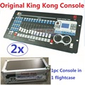 2xLot Free shipping King Kong 768 DMX Console 60 Scenes Professional Stage Lighting Controller DJ Disco DMX512 Lights Equipment