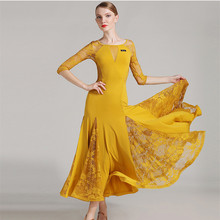 Black ballroom dress woman ballroom waltz dresses ballroom dance clothes waltz dance costumes spanish flamenco dress tango