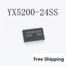 5 шт х YX5200-24SS YX5200-24QS серийный mp3 пятна особенность MP3 программ может быть связано с u-диск, tf-карта, SD карта чип YX5200-24QS IC