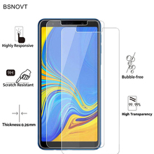 2PCS Screen Protector Glass sFor Samsung Galaxy A7 2018 Tempered For A750 Anti-scratch Phone Film ]