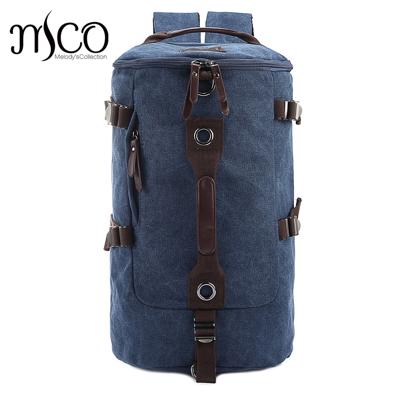 Large capacity man travel bag mountaineering backpack men duffle-bag canvas bucket shoulder Functional overnight Weekend bags augur new canvas leather carry on luggage bags men travel bags men travel tote large capacity weekend bag overnight duffel bags