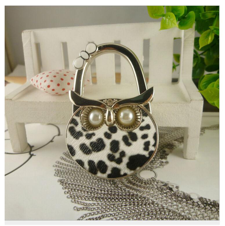 ... Creative Owl Crystal Bag Hangers Table Hangers Handbag Hookers Purse  Hook Bag Holder Bag Accessories ...