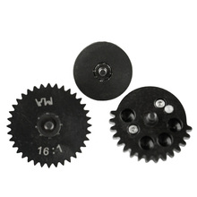 цена на High Quality New 16:1 CNC steel cutting High Speed Gear Set for Ver.2 / 3 AEG Airsoft Gearbox Hunting Accessories