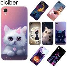 ciciber For ASUS ZenFone Live L1 V 3 GO Zoom S Soft TPU Phone Cases For ASUS ZenFone MAX Lite Plus Pro M1 Cute kitten Cat Fundas