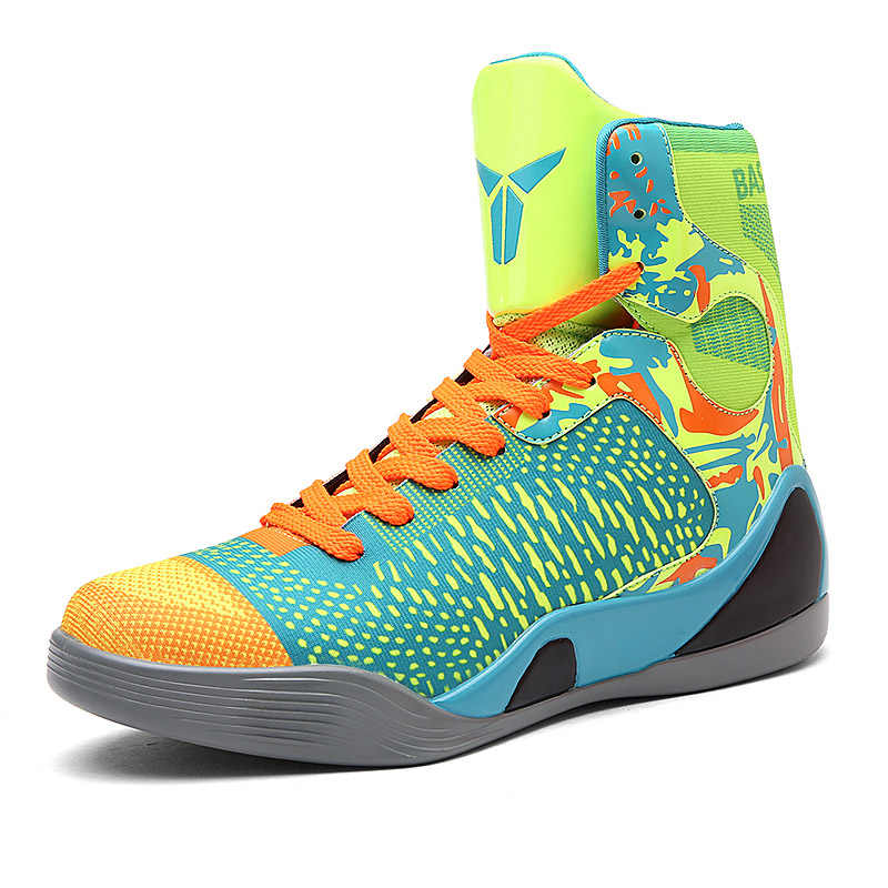 bc8338aa617 Men Basketball Shoes Damping Outdoor Sports Basketball Sneakers Breathable  Light Trainers Jordan Shoes Basket Homme chaussure