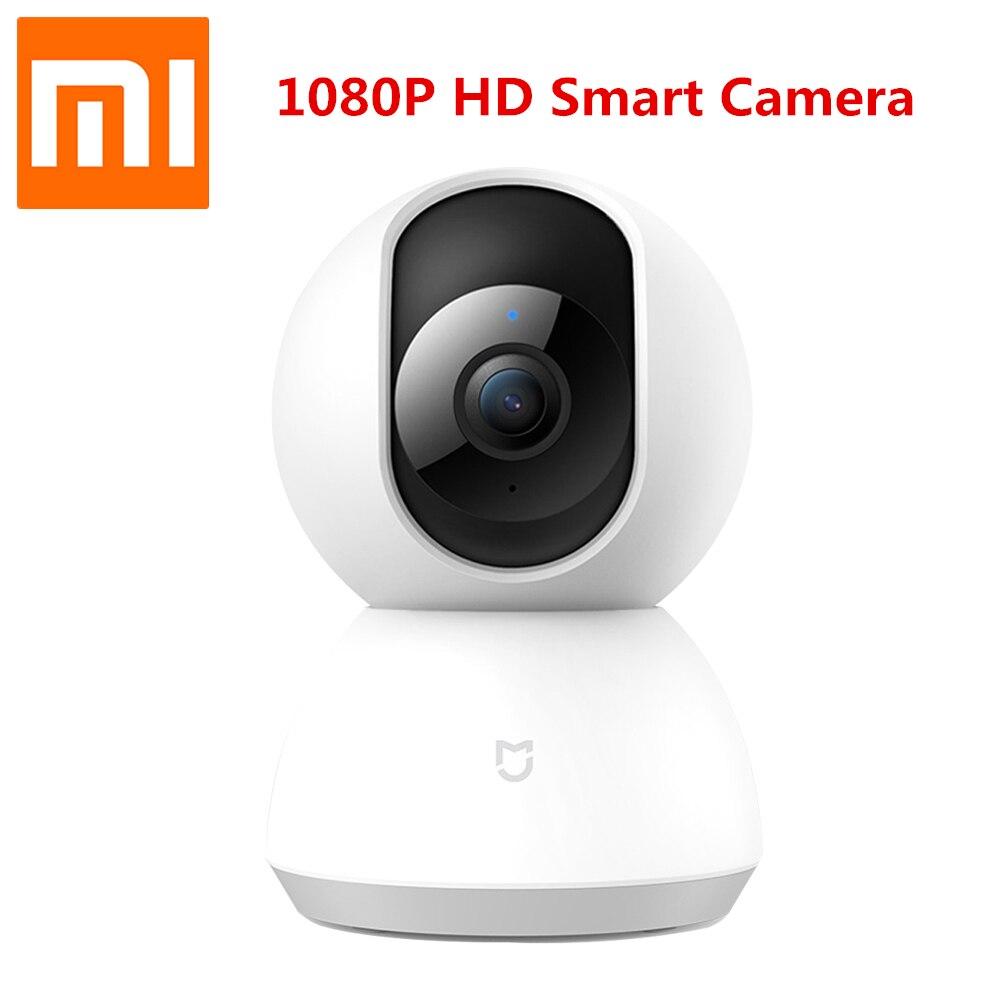 2018 New Xiaomi MI Mijia Cameras 1080P Smart Camera IP Cam Webcam Camcorder 360 Angle WIFI Wireless Night Vision For Mi home APP drawer