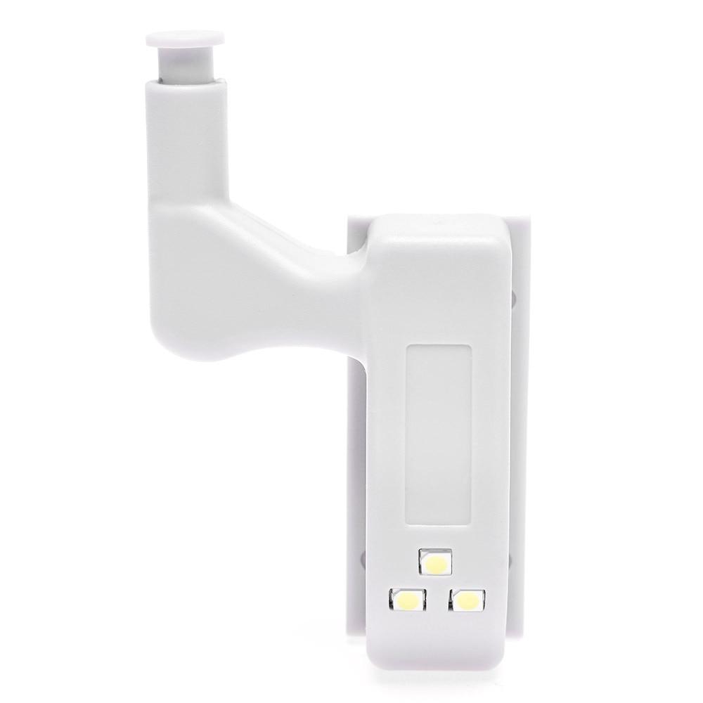 1 Set Grau Schrank Scharnier Led Sensor Lichter Für Schrank Schrank Hause Tür Schrank Scharnier Licht Möbel Hardware Nacht Lichter