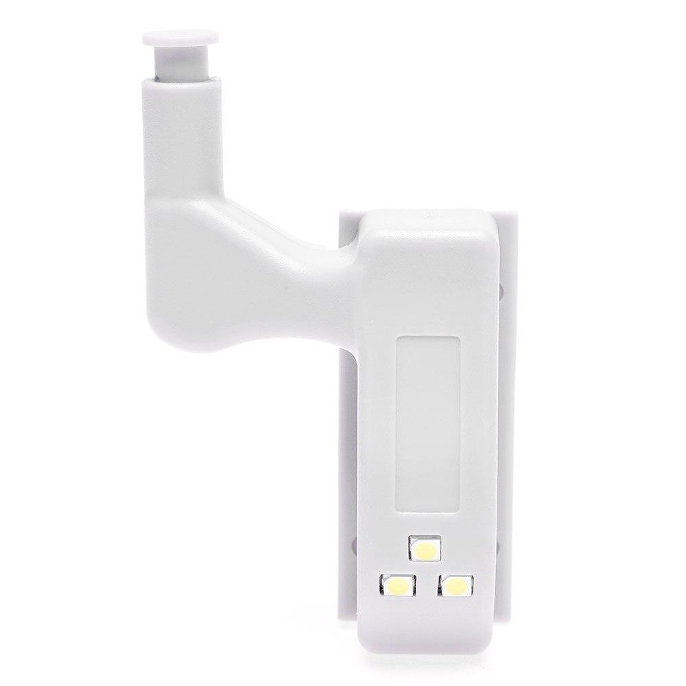 1 Set Grey Cabinet Hinge LED Sensor Lights For Wardrobe Cupboard Home Door Closet furniture cabinet soft close lift up gas support system for cabinet cupborad closet hinge damper