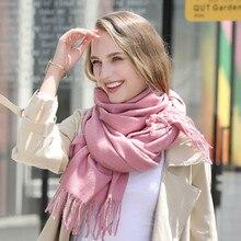 Модный осенне-зимний шарф женский брендовый шарф для дам зимний подарок шарф красивые шарфы