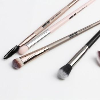 1 Set EyeMakeup Brushes Set Eyeshadow Brush Eyebrow Comb Brush  Eyelash Bevel Eyeliner Smudge Brush Kit
