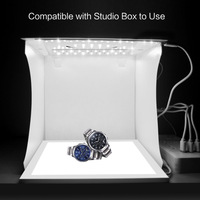 Newly LED Photography Shadowless Light Lamp Panel Pad + Studio Shooting Tent Soft Box Set DC128