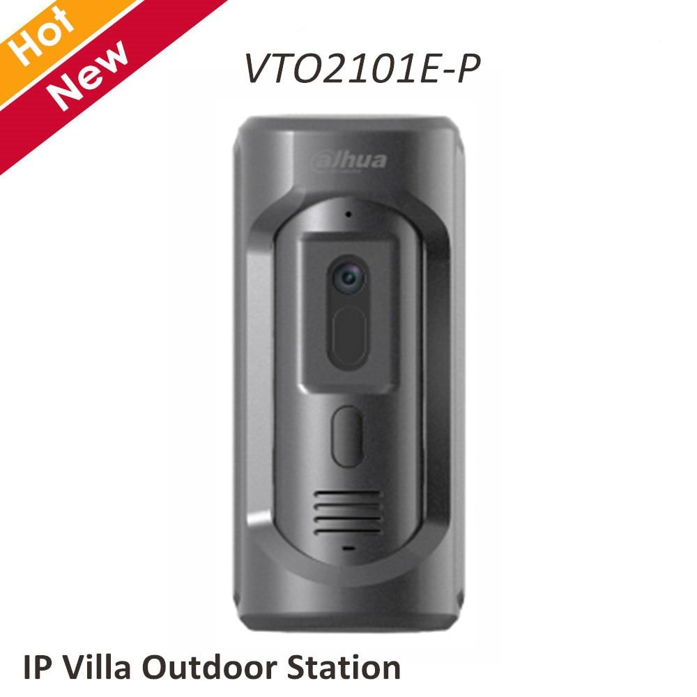 Dahua IP VTO2101E-P Villa Estação Ao Ar Livre da câmera HD CMOS IP65 IK10 painel da liga do Zinco 1/2. 7 2MP Sensor de Imagem CMOS de sistema de intercomunicação