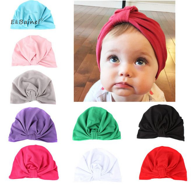 E&Bainel Baby Hat Solid Newborn Photography Props Accessories Spring Autumn Baby Hat For Girls Boys Baby Beanie Infant Hats