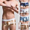 Men's Underwear Medal Printed Boxer Shorts for Men Panties Slip Bright Panties Soft Sexy Low Waist Underwear Boxers