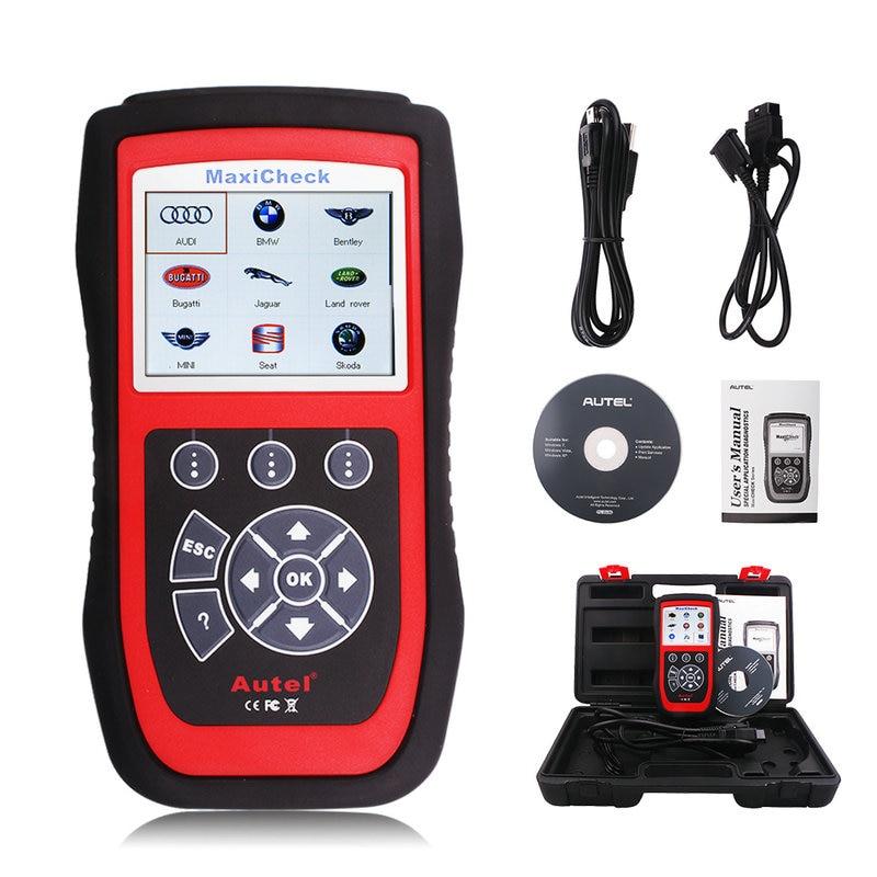Цена за Диагностический инструмент Autel MaxiCheck Pro ABS/SRS/oil service/EPB/dpf/SAS датчики сброса лучше, чем EasyDiag 2.0 ELM327 сканер