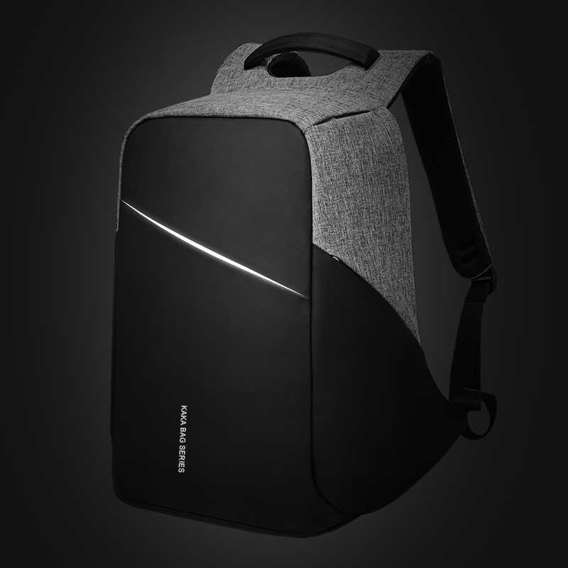 KAKA анти кражи дизайн рюкзак для мужчин 15,6 рюкзак для ноутбука водонепроницаемый мужской женский рюкзак школьный рюкзак Mochila