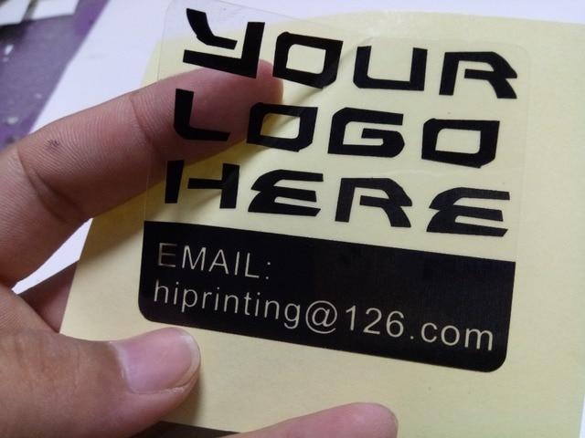 Custom paper sticker printing lables